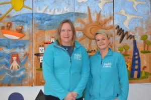 Anna-Lena Dahlqvist och Jenny Berg-Andersson, på VåRö föräldrakooperativ